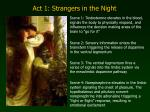 act 1 strangers in the night