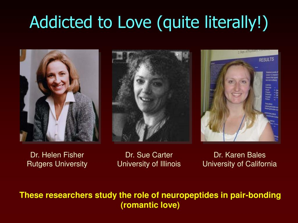 Addicted to Love (quite literally!)
