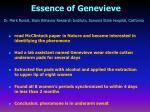 essence of genevieve