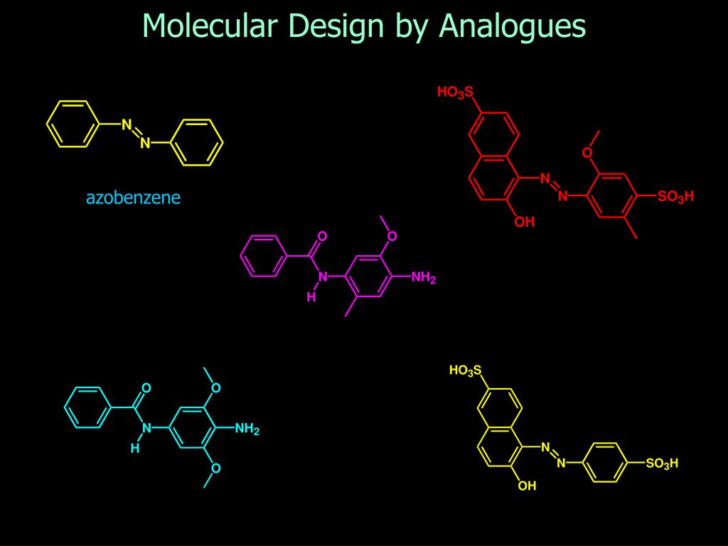 Molecular Design by Analogues