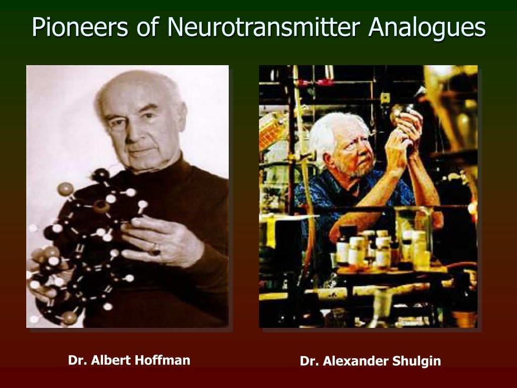 Pioneers of Neurotransmitter Analogues