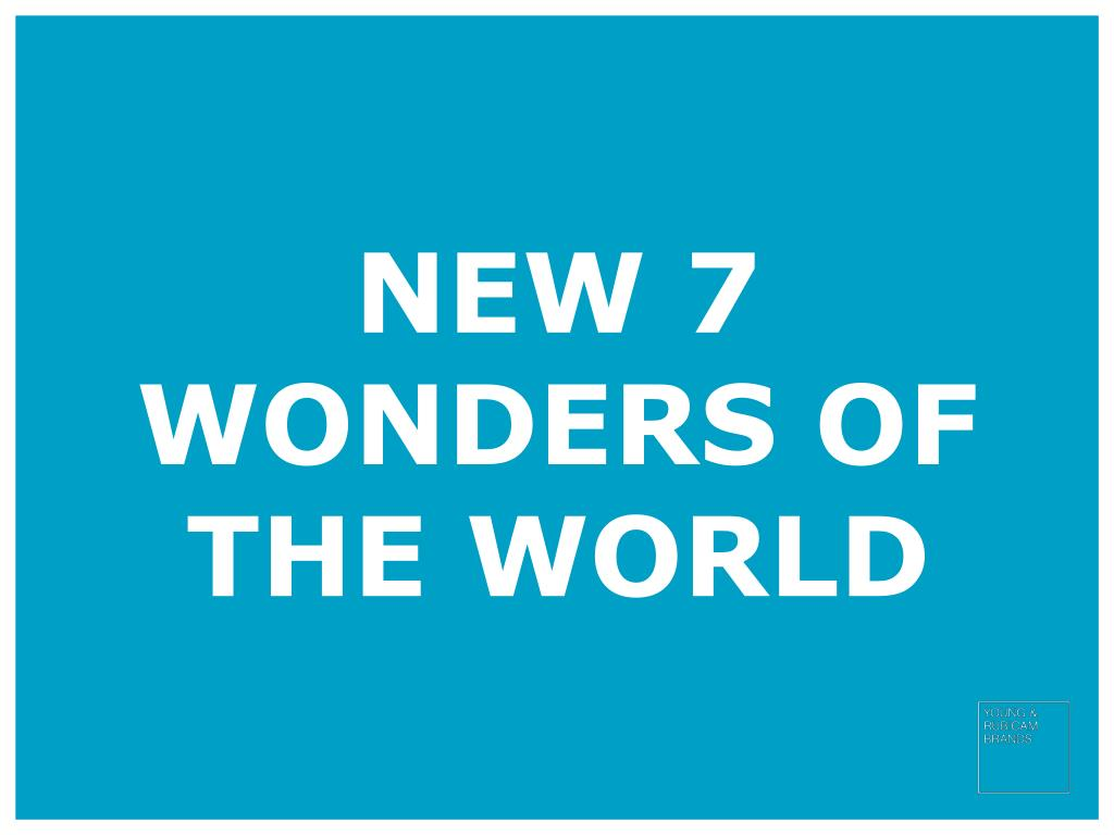 new 7 wonders of the world l.