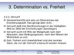 3 determination vs freiheit23