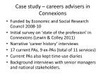 case study careers advisers in connexions