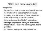 ethics and professionalism13