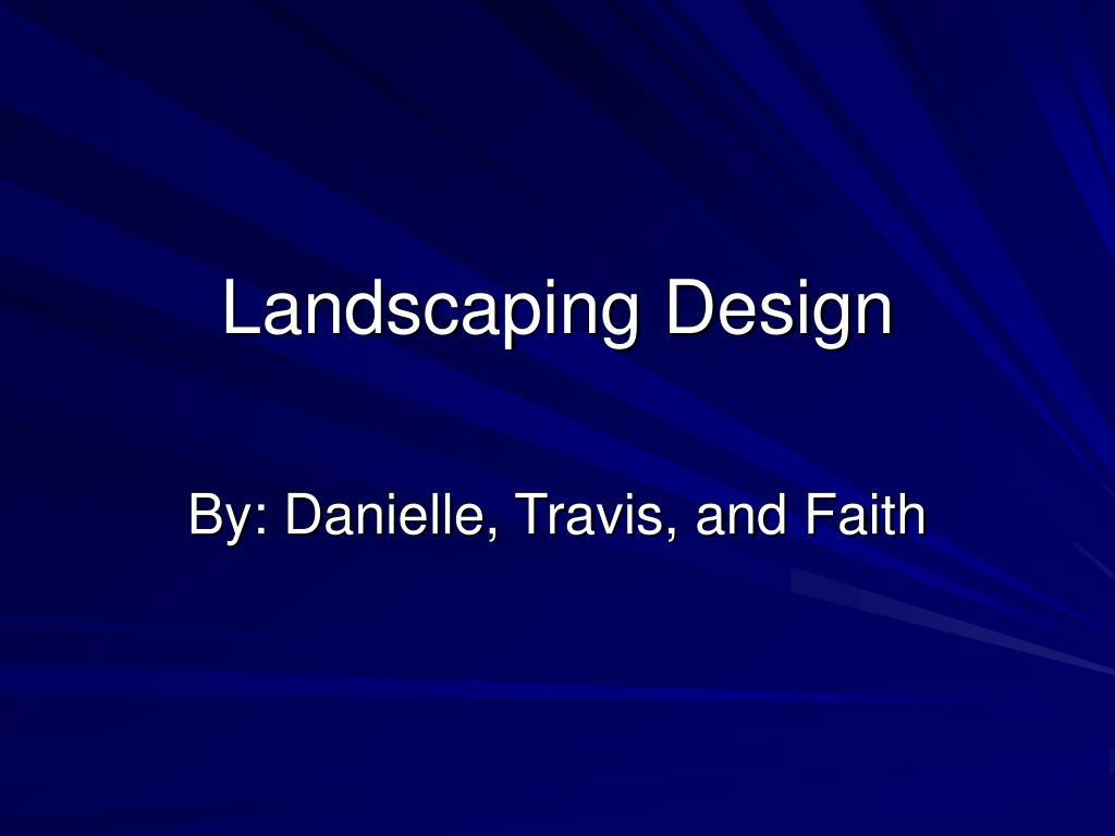 landscaping design l.