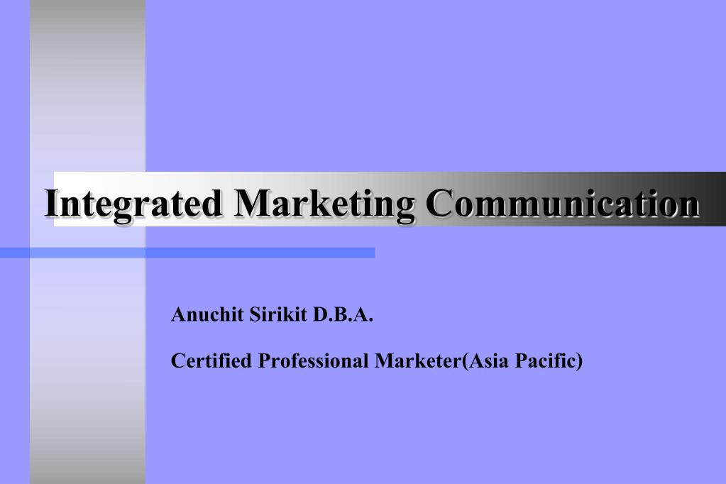 integrated marketing communication l.