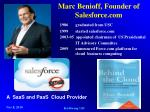 marc benioff founder of salesforce com