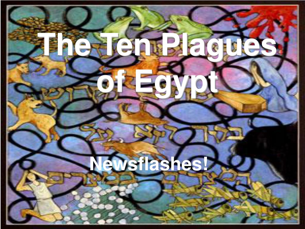 the ten plagues of egypt l.