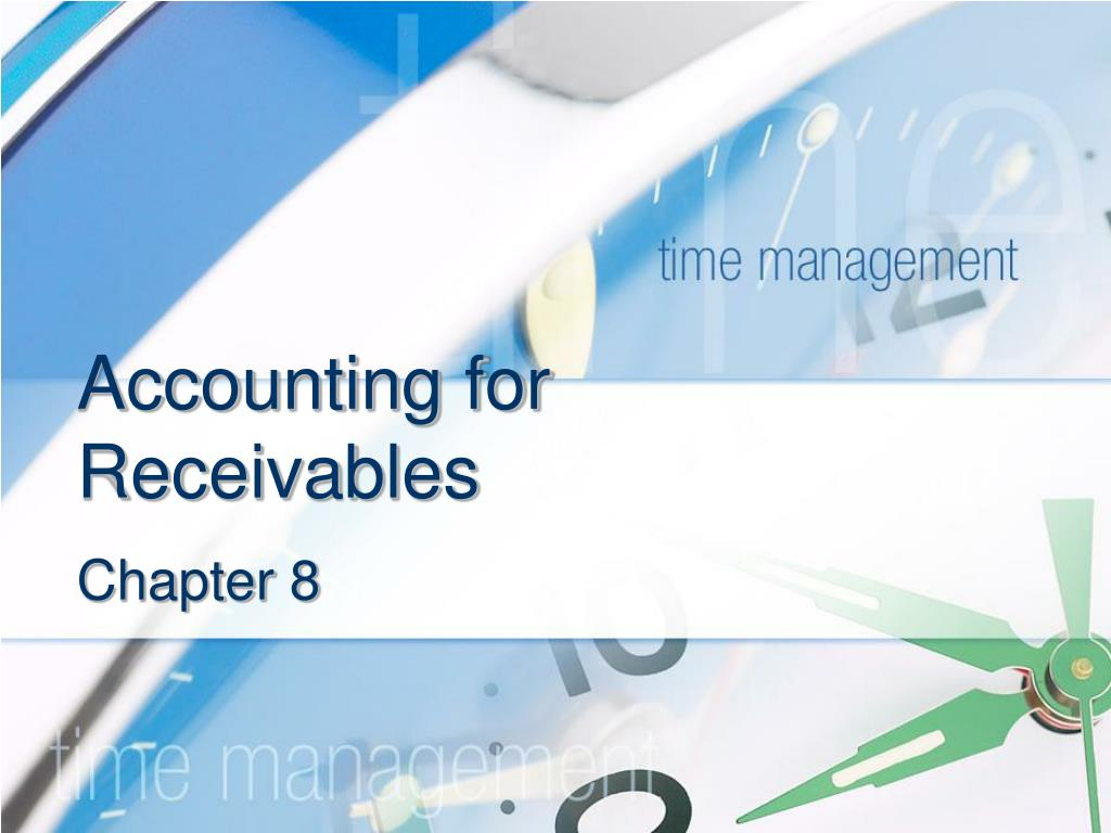 accounting for receivables l.