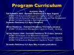 program curriculum10