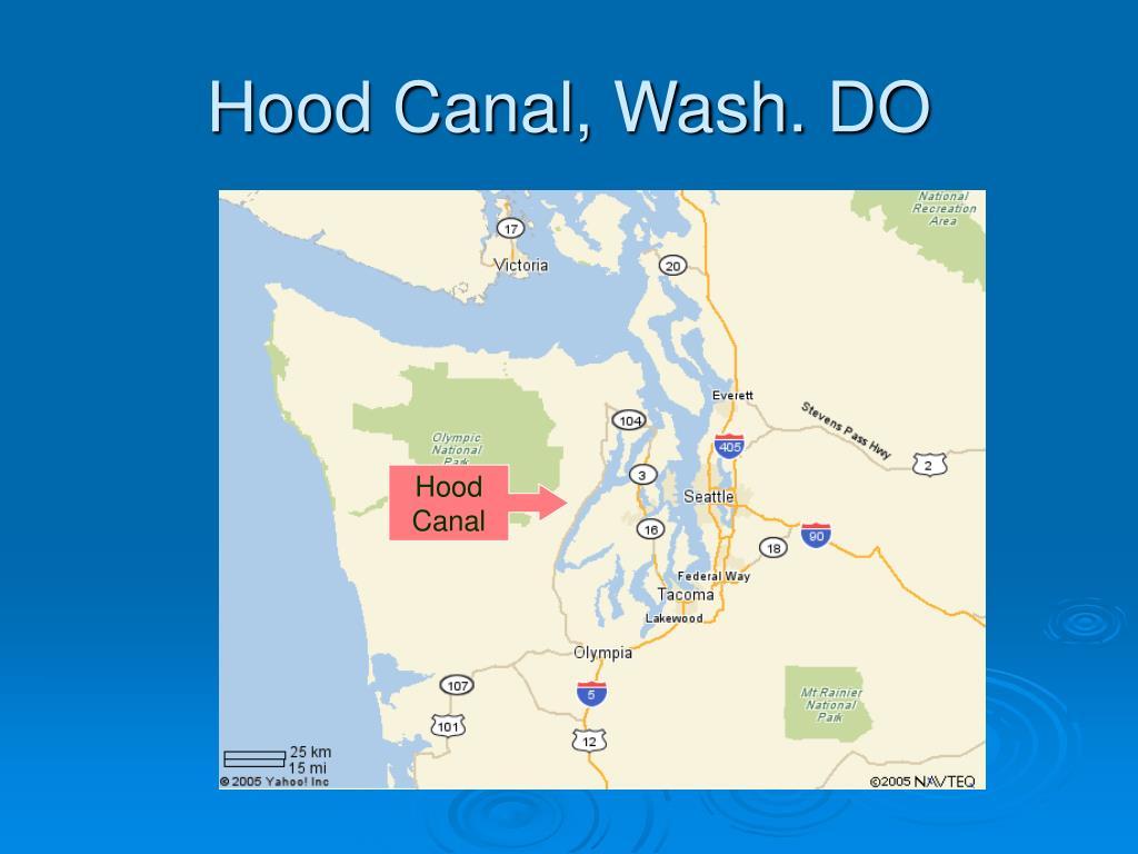 Hood Canal, Wash. DO