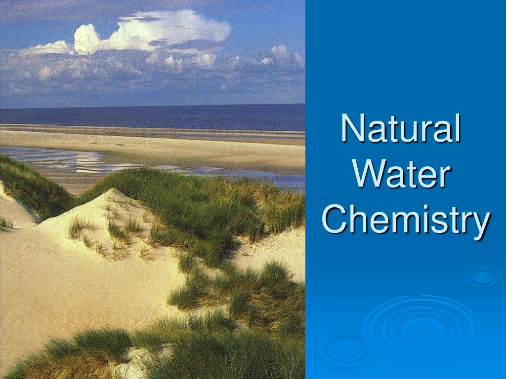 natural water chemistry l.