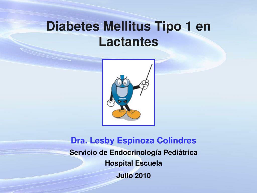 diabetes mellitus tipo 1 en lactantes l.
