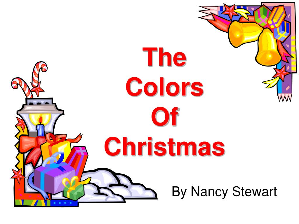 the colors of christmas l.