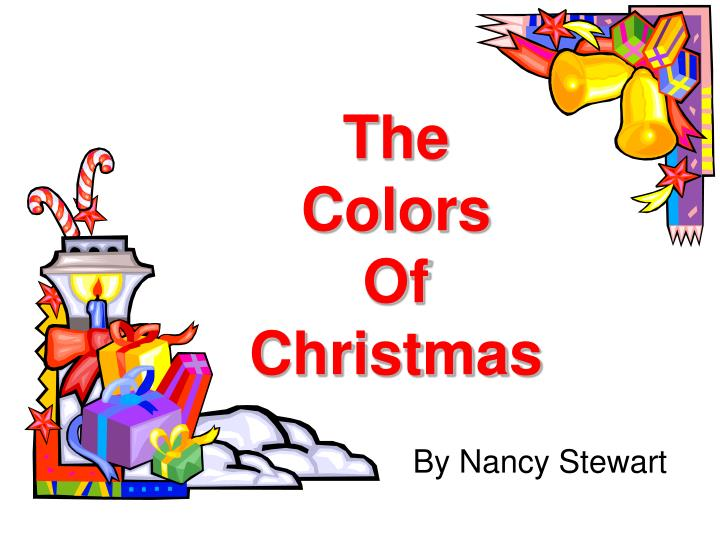 the colors of christmas n.