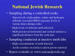 national jewish research