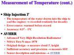 measurement of temperature cont20