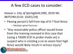 a few ecd cases to consider42