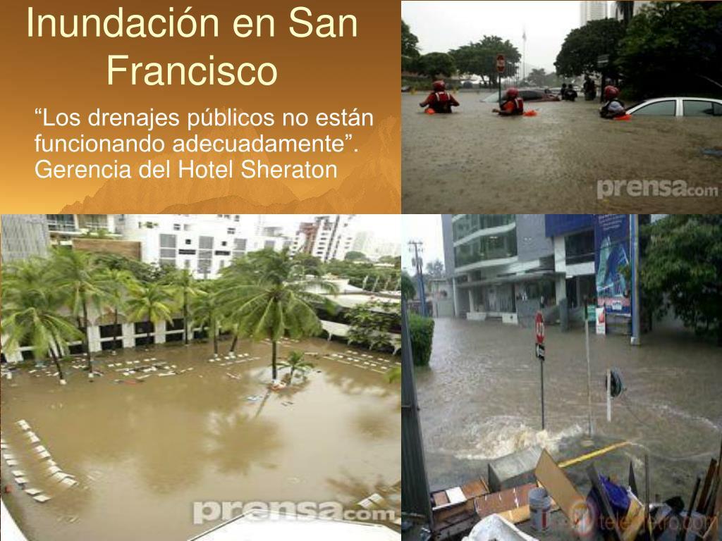 Inundación en San Francisco