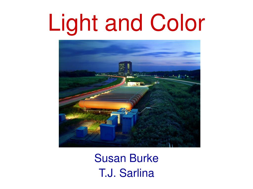 light and color l.