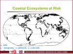 coastal ecosystems at risk
