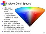 intuitive color spaces