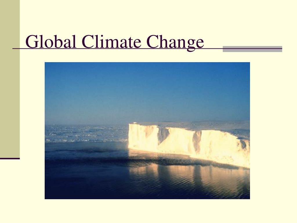 global climate change l.