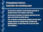 prepayment meters consider the working poor