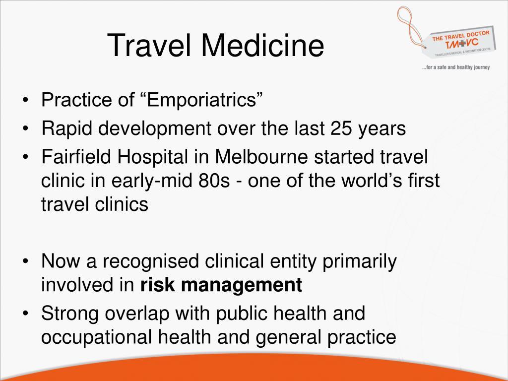 travel medicine l.