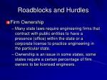 roadblocks and hurdles20