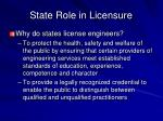 state role in licensure5