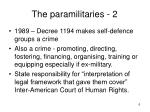 the paramilitaries 2
