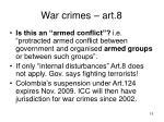 war crimes art 8