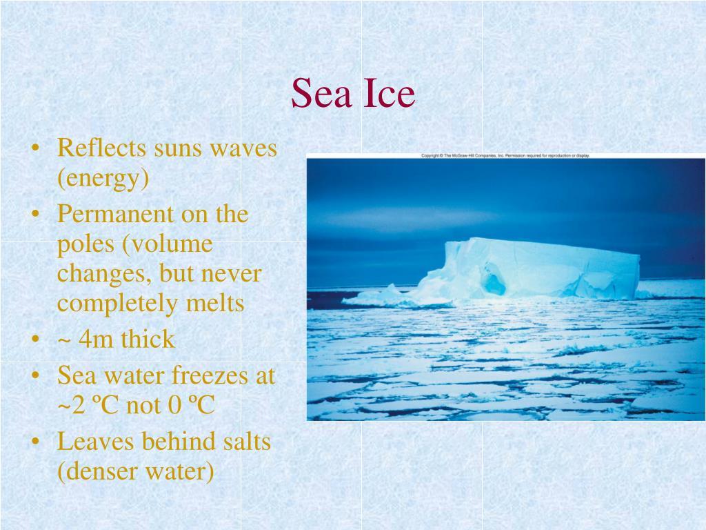 sea ice l.
