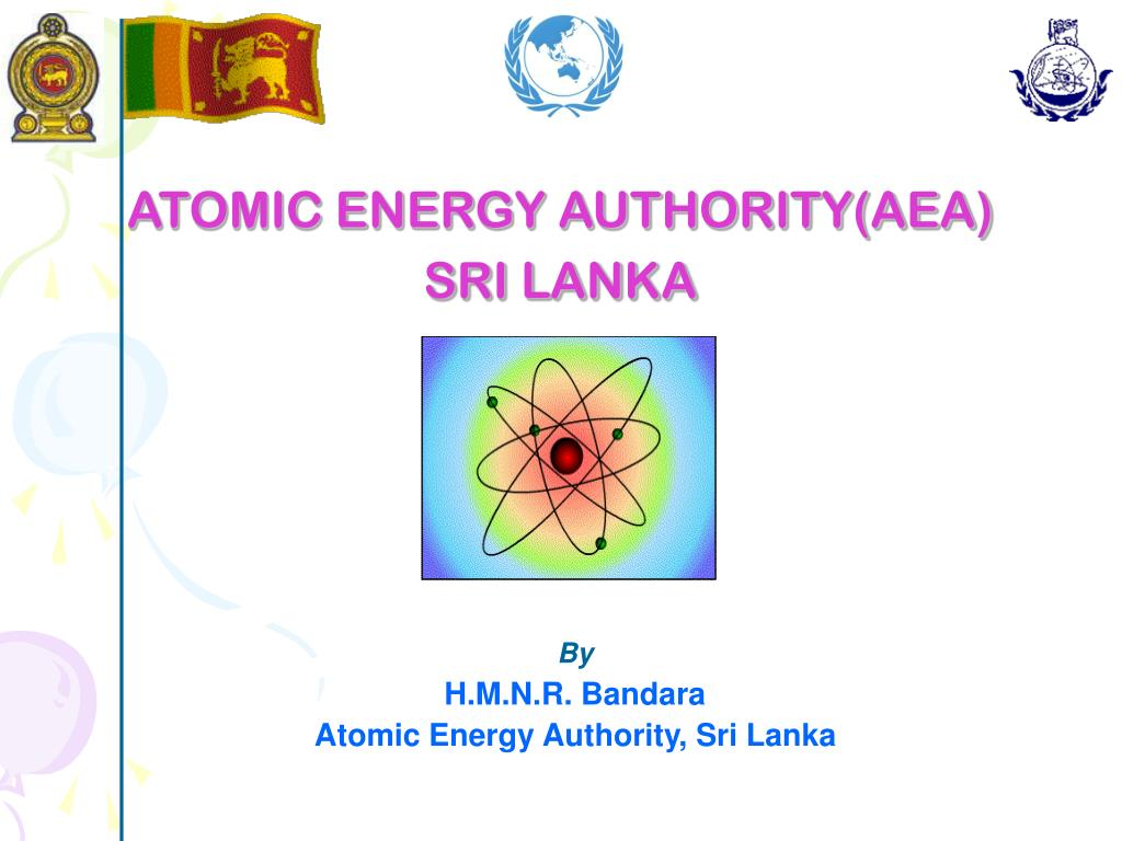 atomic energy authority aea sri lanka l.