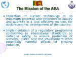 the mission of the aea