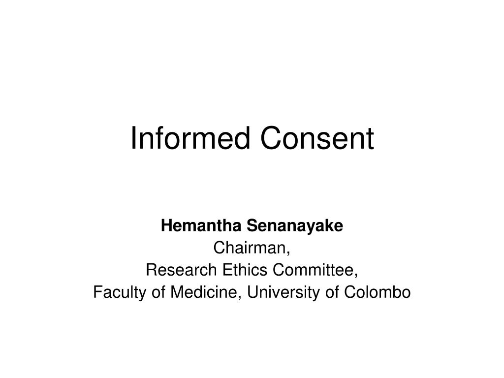informed consent l.