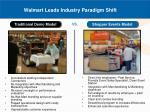 walmart leads industry paradigm shift