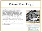 chinook winter lodge