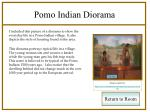 pomo indian diorama