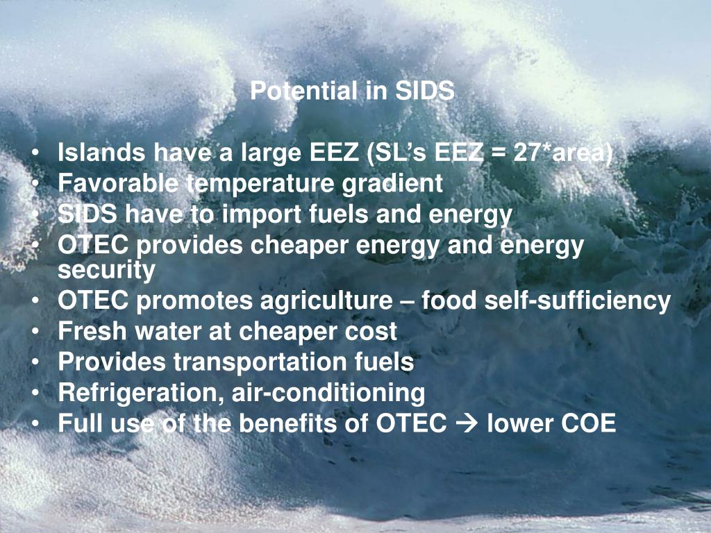 Potential in SIDS