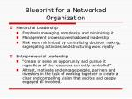 blueprint for a networked organization32