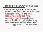 building the networked business16