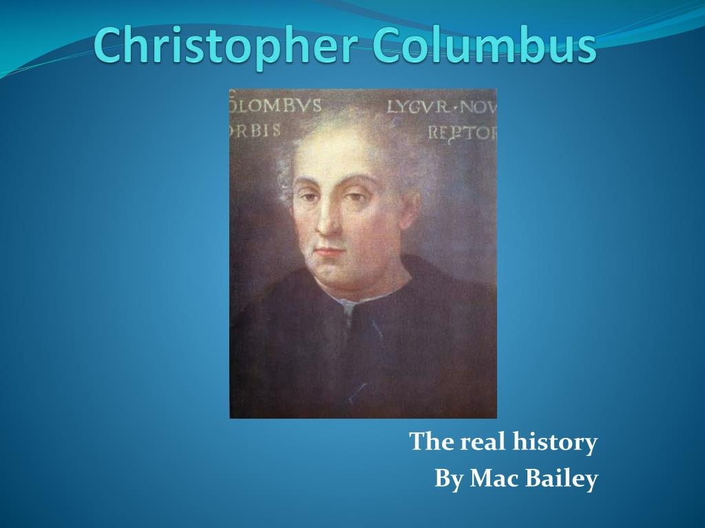 christopher columbus l.