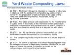 yard waste composting laws7
