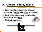a general safety rules2