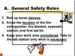 a general safety rules3