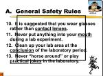 a general safety rules4