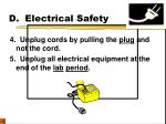 d electrical safety12
